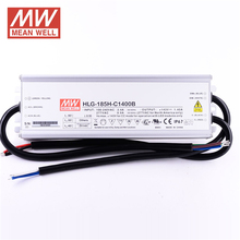 Constant Current Triac Dimmable LED Driver HLG-185H-C1400B Meanwell 1400mA Street Lighting LED Driver