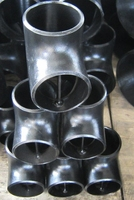 butt welded pipe fittings tee carbon steel barrier tee or saddle tee