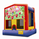 Kids indoor playground toy air bouncer inflatable trampoline in China