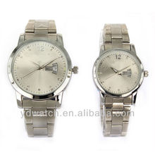 Best steel strap couple watches, China manufacturer