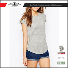100% Cotton Cheapest Price Directly Apparel Factory women T-shirt