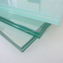 12.76mm opaque white laminated glass