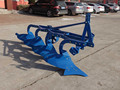 3 point mounted cattle steel furrow plough with 6 blades