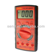 LCD screen digital multimeter dt9205n with capacitance test