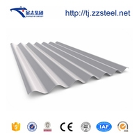 High quality cheap price color coated corrugated metal roofing sheet