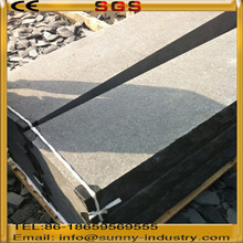 black granite flamed Non-slip Steps