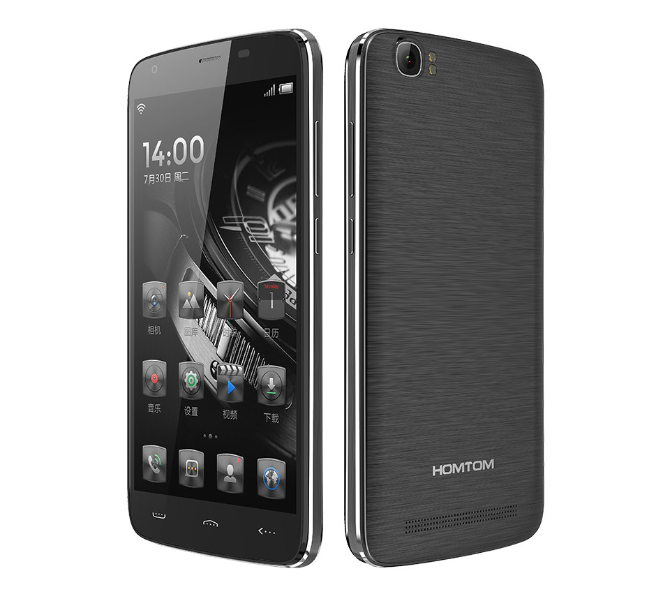 Promotional durable 13mp camera unlocked style mobile phone siver Homtom ht6