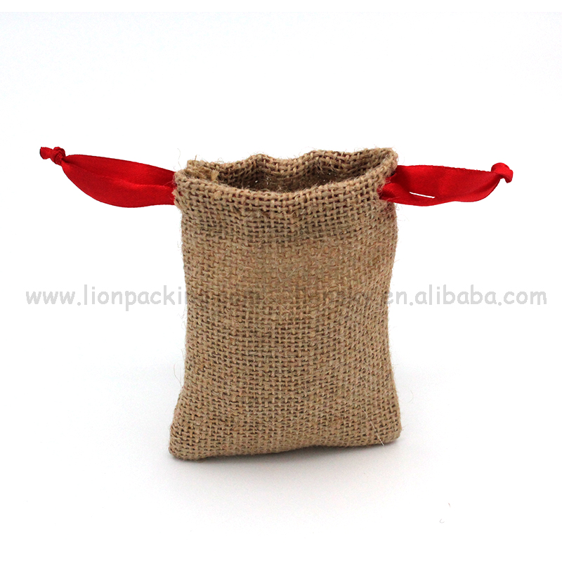 Customized jute sack brown hessian cloth