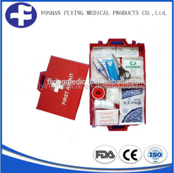 New Design Plastic case First Aid Box Family First Aid Kit Box