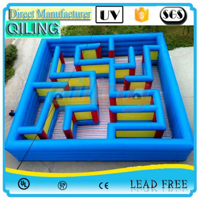 2017 Customize Park equipment inflatable maze with clown theme hire