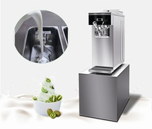Best Sell Mini Frozen Yogurt Machine Ice Cream Machine IP302S with Air Pump, High Overrun Making Good Ice Cream, High Production