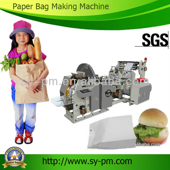 SP-400 paper bag making process