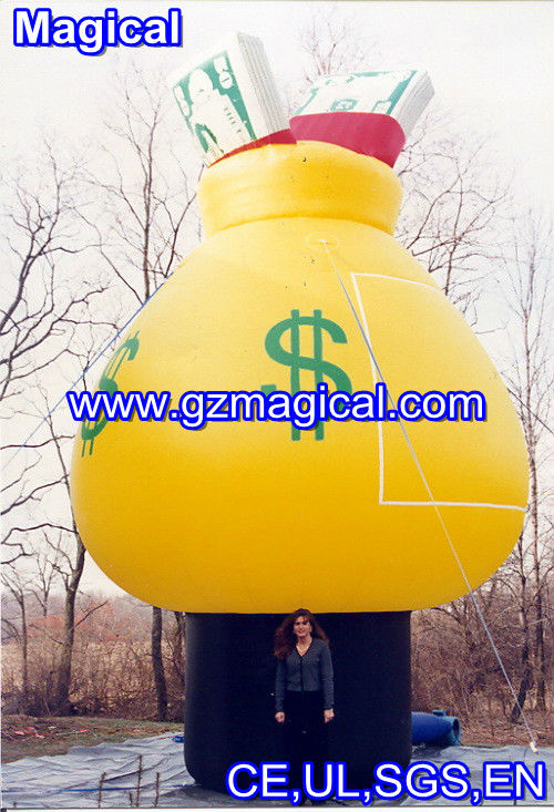 money box inflatable advertising model