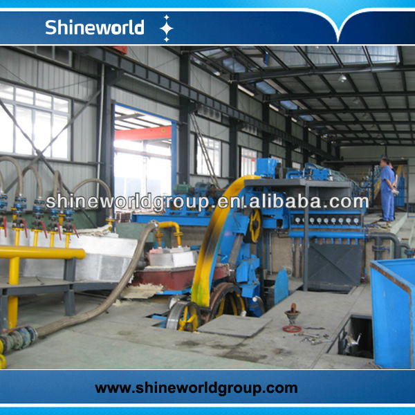 2roll+3roll aluminium rod casting and rolling line for cable making equipment