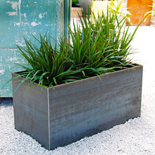 Larger Vertical Steel Garden Planter