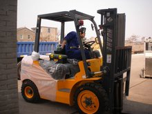 Zhejiang HUAHE 3T Yanmar 4TNE98 Engine Forklift, ce approved forklift trucks with isuzu diesel engine