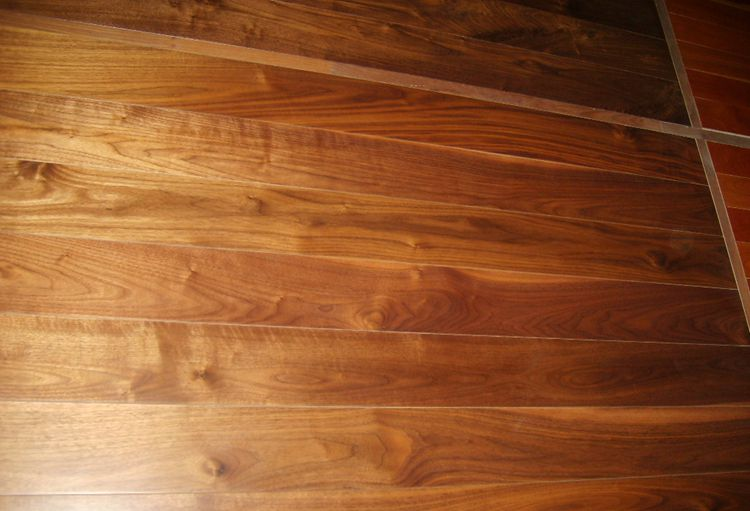 black walnut engineered wood flooring