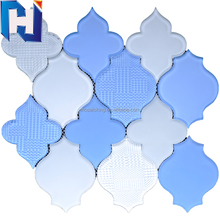 Water jet lantern mosaic tiles prices in egypt glass mosaic tile hot sale product