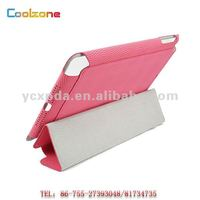 2014 brand new football pattern tablet pc leather case for mini ipad, cover for ipad mini