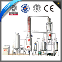 Good filtration and stable operating used motor oil recycling