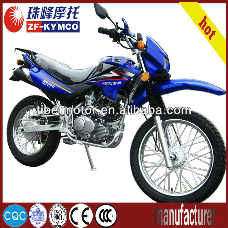 Hot-seller off road adult dirt bike 250cc on promotion ZF200GY