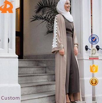 2017 Modern Design Wholesale Dubai Open Abaya