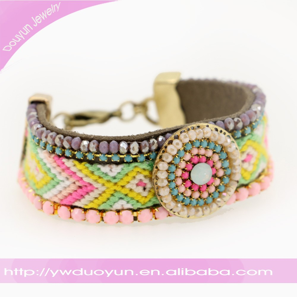 2016 Woven Girls Friendship Bracelet In Chinese