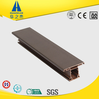 High quality PVC U profile plastic door frame covering