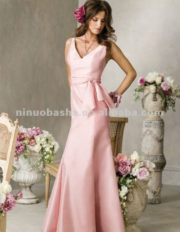 2012 new style bridesmaid dress/bridal gown