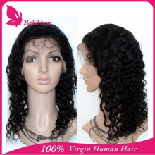 100% virgin unpocessed Human Hair Jewish long wholesale european wavy kosher wig