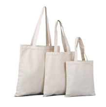 Standard size cotton canvas shopping bag cheap promotional beach bags blank canvas wholesale tote bags
