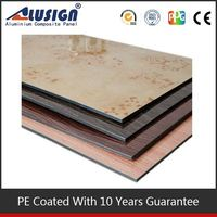 Alusign strong points working fire rated plywood acm aluminum composite panel