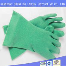 Acid and alkali resistant, oil resistant, anti-fatigue foam gloves