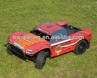 Remote control high speed petrol rc car for adult