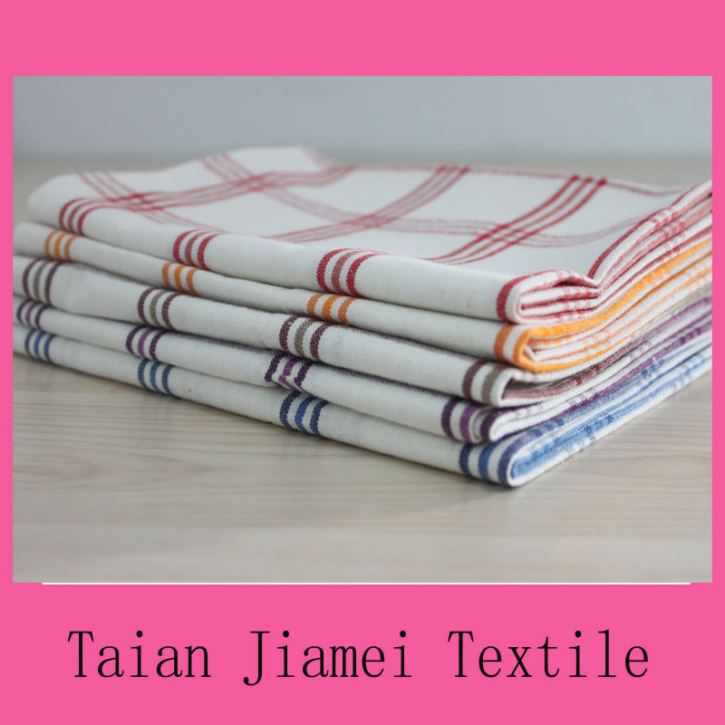 plain white linen&cotton tea towels wholesale