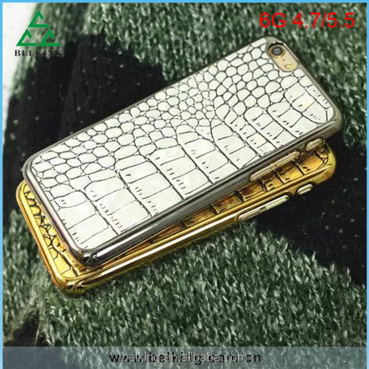 For iPhone 6 Genuine Leather Case / Crocodile Pattern Case For iPhone 6s / Leather Skin Case For iPhone 6s
