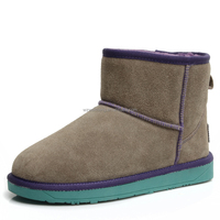 Multi colors fashion women used winter boots