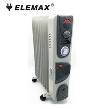 Portable homeuse electric oil radiator <strong>heater</strong> with turbo fan