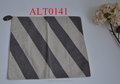 cheap square lines table cloth 84*84 for home decoration