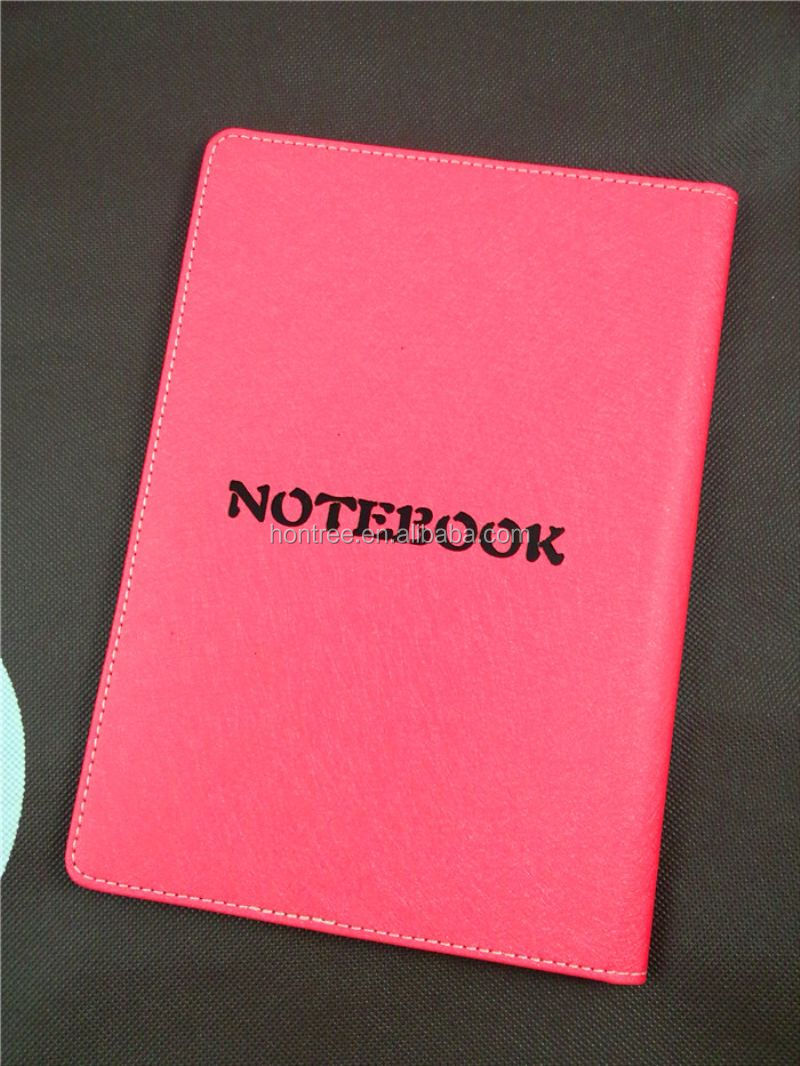 2015 exquisitely leather-cut denim cover notebook