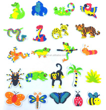 Factory Hot Selling Self-Adhesive Kids Craft Animal EVA Foam Stickers