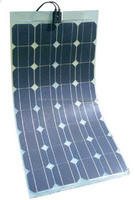 OEM China supplier 110w flexible solar panel with sunpower cell for marine