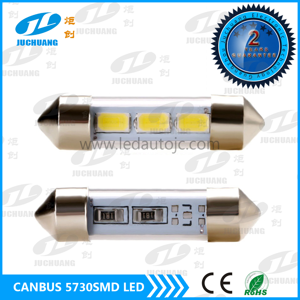 5730smd car accessories 2016 12 ~24V DC 36mm 39mm 41mm festoon canbus car led auto bulb car led reading Light