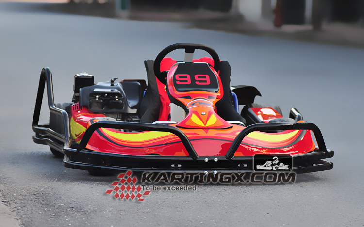 125CC cheap racing go kart for sale honda engine 4 wheel racing go-kart