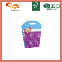 hot selling china supplier ODM new paper butterfly 3D gift shopping bag for packaging