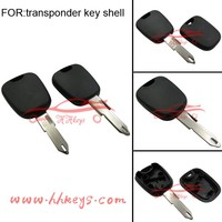 Uncut Auto Remote Key Peugeot 206 Replacement Key Shell Without Logo