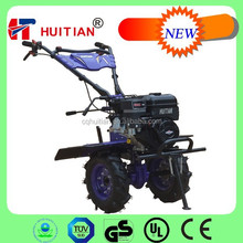 HT1000A Gearbox Manual Petrol Garden Tiller With Plow