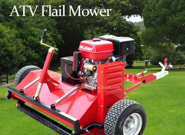 CE certificated ATV Flail Mower with 15HP power engine