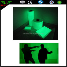 china manufacturer glow in the dark wall paper / glow in the dark film / luminescent vinyl plastic sheets
