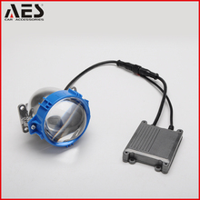 AES Newest 3.0 Inch High beam 40w Low beam 35w 12V Bi LED Projector lens For Car H4 H7 LED Headlight